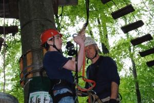 Am 22. Juli endet die Saison mit einem Aktionstag im Kletterwald Altenhof/Eckernförde.